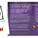 Fruit Revival brochure